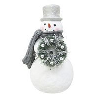 St. Nicholas Square® Light-Up Glitter Snowman Table Decor