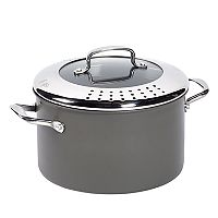 Food Network™ 8-qt. Hard-Anodized Drain & Pour Stockpot
