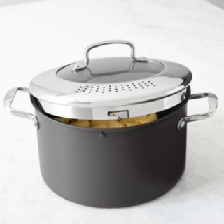 Food Network? 8-qt. Hard-Anodized Drain & Pour Stockpot