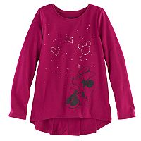 Disney's Minnie Mouse Girls 4-10 Ruffle Top by Jumping Beans®
