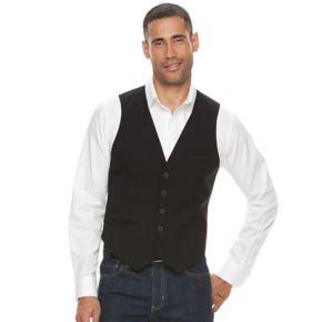 Big & Tall Apt. 9® Modern-Fit Woven Vest