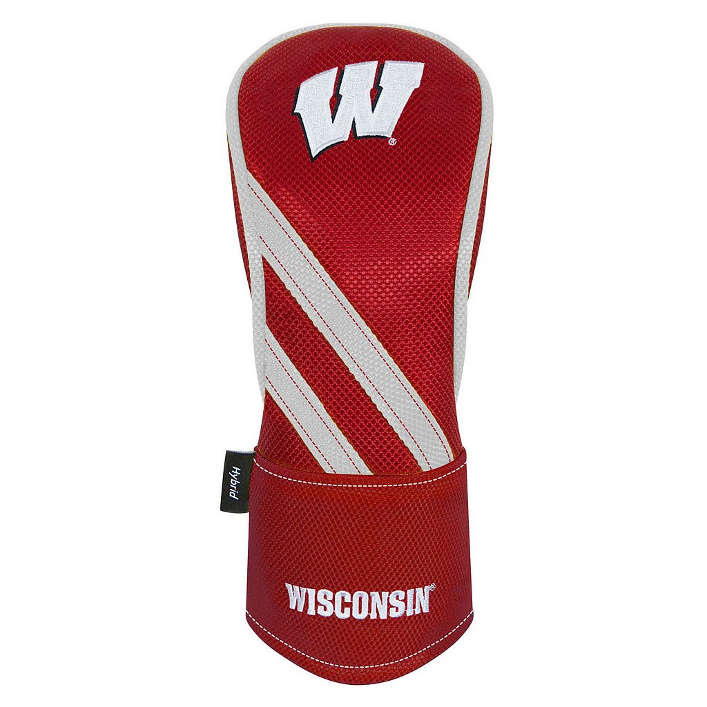 Team Effort Wisconsin Badgers Hybrid Head Cover