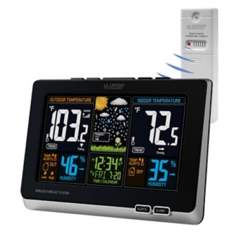 La Crosse Technology Wireless Color LCD Weather Forecast Station