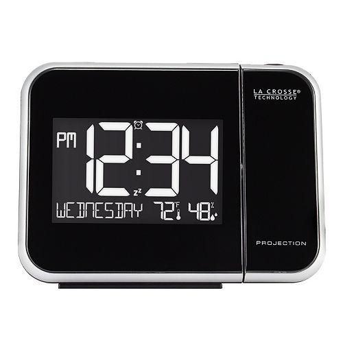 La Crosse Technology Projection Alarm Clock