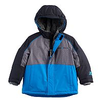 Toddler Boy ZeroXposur Colorblocked Plush Lined Heavyweight Jacket
