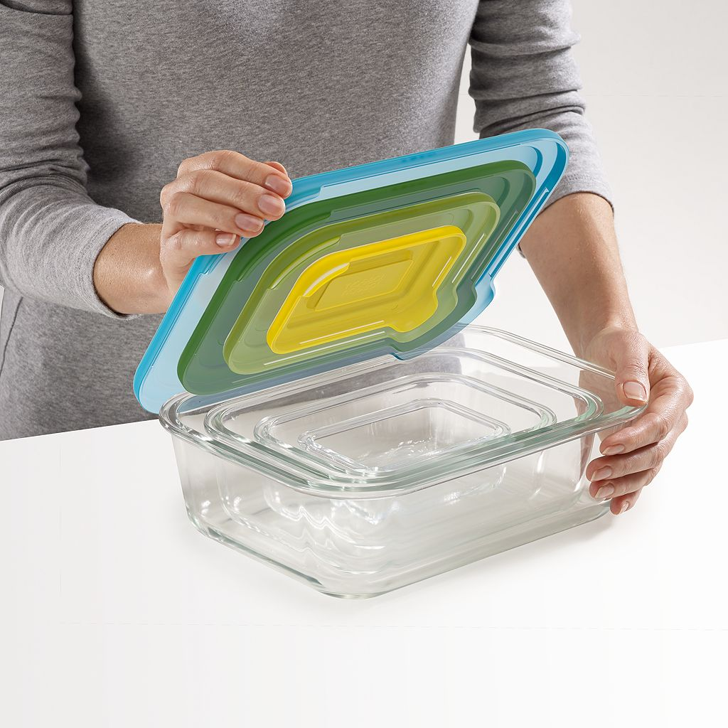 Joseph Joseph Nest 8-pc. Glass Storage Set