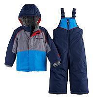 Toddler Boy ZeroXposur Heavyweight Jacket & Bib Overall Snow Pants Set
