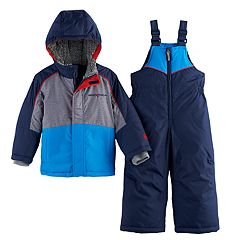Toddler Boy ZeroXposur Heavyweight Jacket & Bib Overall Snow Pants Set