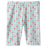 Baby Girl Jumping Beans® Print Capri Leggings
