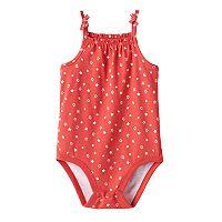 Baby Girl Jumping Beans® Stars Print Bodysuit