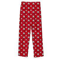 Boys 8-20 Rutgers Scarlet Knights Team Logo Lounge Pants