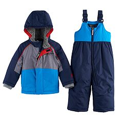 Baby Boy ZeroXposur Bender Colorblocked Heavyweight Jacket & Snow Pants Set