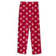 Boys 8-20 Nebraska Cornhuskers Team Logo Lounge Pants