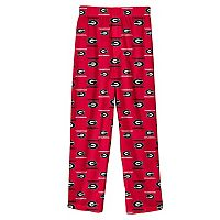 Boys 8-20 Georgia Bulldogs Team Logo Lounge Pants