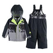 Baby Boy ZeroXposur Dean Abstract Heavyweight Jacket & Snow Pants Set