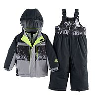 Baby Boy ZeroXposur Dean Abstract Heavyweight Jacket & Snow Pants Set