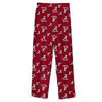 Boys 8-20 Alabama Crimson Tide Team Logo Lounge Pants