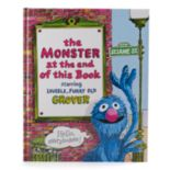 "Kohl's Cares® ""Sesame Street The Monster at the End of this Book"" Hardcover Book"