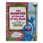 Kohl's Cares® 'Sesame Street The Monster at the End of this Book' Hardcover Book