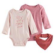 Baby Jumping Beans® 2 pkBodysuits & Bib Set