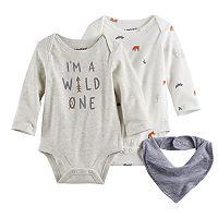 Baby Jumping Beans® 2-pk. Bodysuits & Bib Set