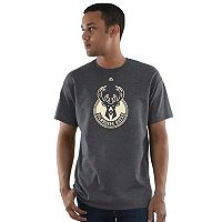 Men's Majestic Milwaukee Bucks Heather Tee