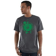 Big & Tall Majestic Boston Celtics Heather Tee
