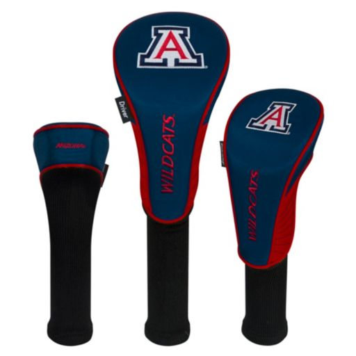 Team Effort Arizona Wildcats 3-Piece Club Head Cover Set