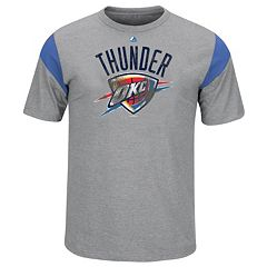 Big & Tall Majestic Oklahoma City Thunder Team Tee