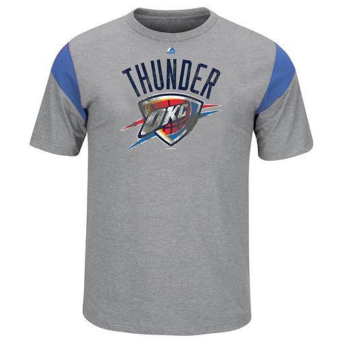 Big & Tall Majestic Oklahoma City Thunder Team Tee