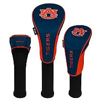 Team Effort Auburn Tigers 3-Piece Club Head Cover Set
