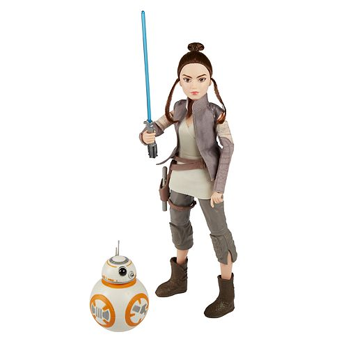 Star Wars Forces of Destiny Rey of Jakku & BB-8 Adventure Set by Hasbro