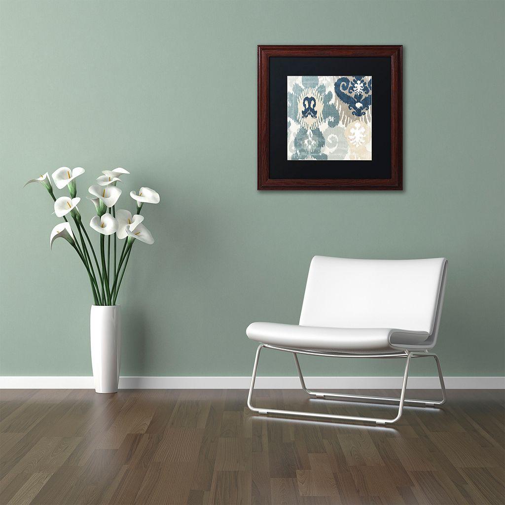 Trademark Fine Art Beach Curry III Traditional Framed Wall Art
