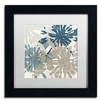 Trademark Fine Art Beach Curry IV Black Framed Wall Art