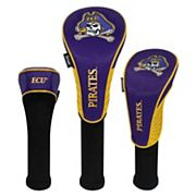 Team Effort East Carolina Pirates 3 pc Club Head Cover Set