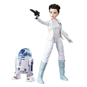 Star Wars Forces of Destiny Princess Leia Organa & R2-D2 Adventure Set by Hasbro