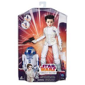 Star Wars Forces of Destiny Princess Leia Organa & R2-D2 Adventure Set by Hasbro