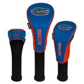 Team Effort Florida Gators 3-Piece Club Head Cover Set