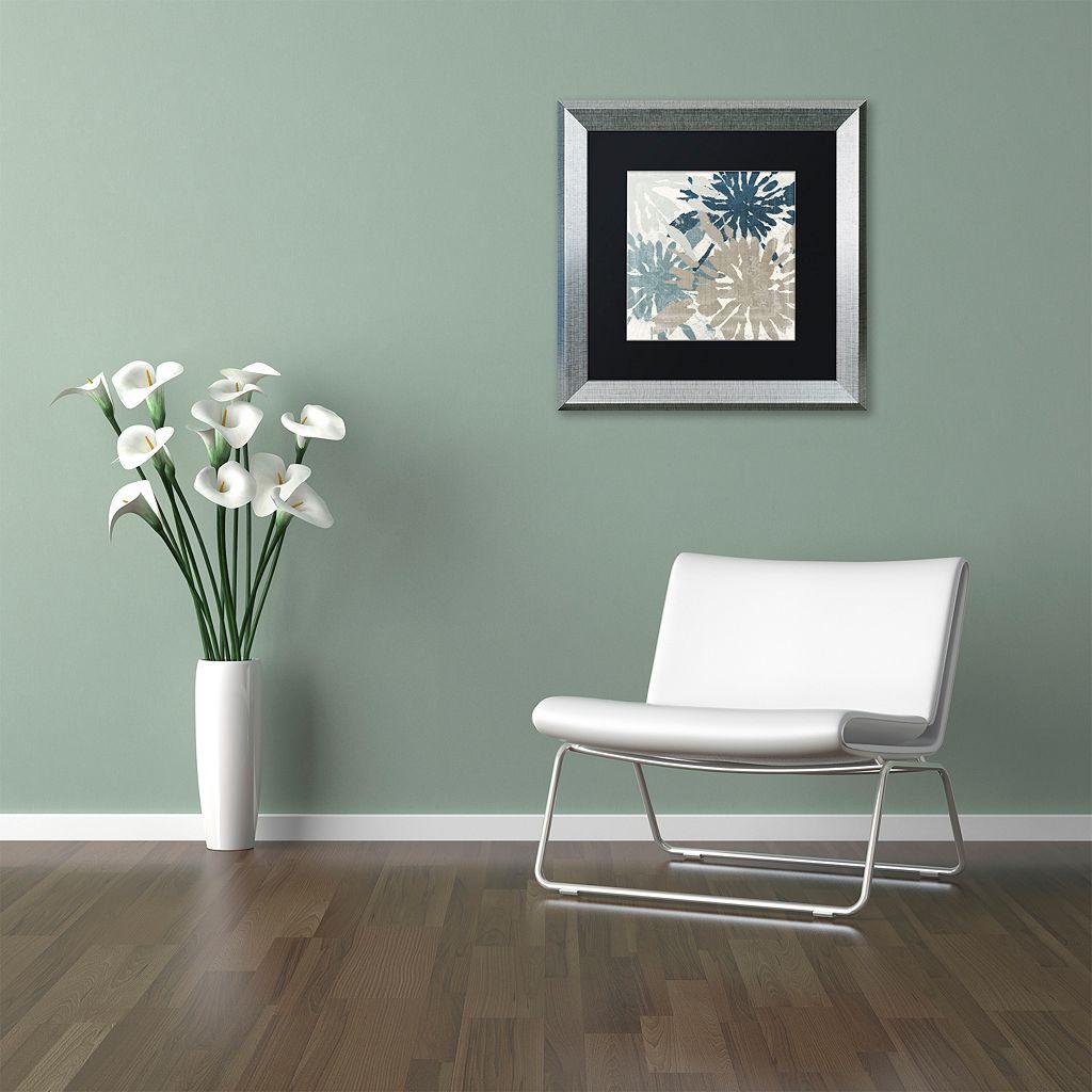 Trademark Fine Art Beach Curry IV Framed Wall Art