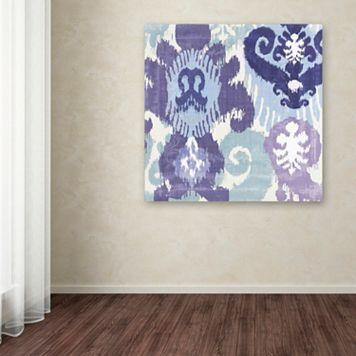 Trademark Fine Art Blue Curry I Canvas Wall Art