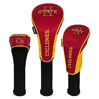 Team Effort Iowa State Cyclones 3-Piece Club Head Cover Set