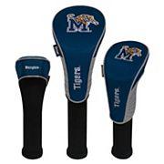 Team Effort Memphis Tigers 3 pc Club Head Cover Set