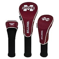 Team Effort Mississippi State Bulldogs 3-Piece Club Head Cover Set