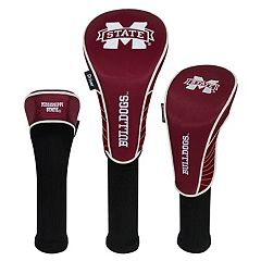 Team Effort Mississippi State Bulldogs 3 pc Club Head Cover Set