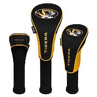 Team Effort Missouri Tigers 3 pc Club Head Cover Set