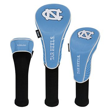 Team Effort North Carolina Tar Heels 3-Piece Club Head Cover Set