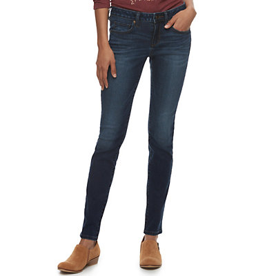 Women's SONOMA Goods for Life? Supersoft Stretch Midrise Skinny Jeans