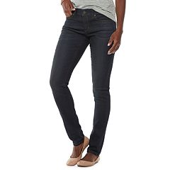 Women's SONOMA Goods for Life™ Supersoft Midrise Stretch Skinny Jeans
