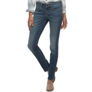 Women's SONOMA Goods for Life? Supersoft Midrise Stretch Skinny Jeans