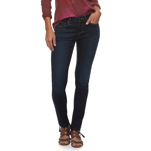 e74e619f290 Women's SONOMA Goods for Life™ Supersoft Midrise Stretch Skinny Jeans